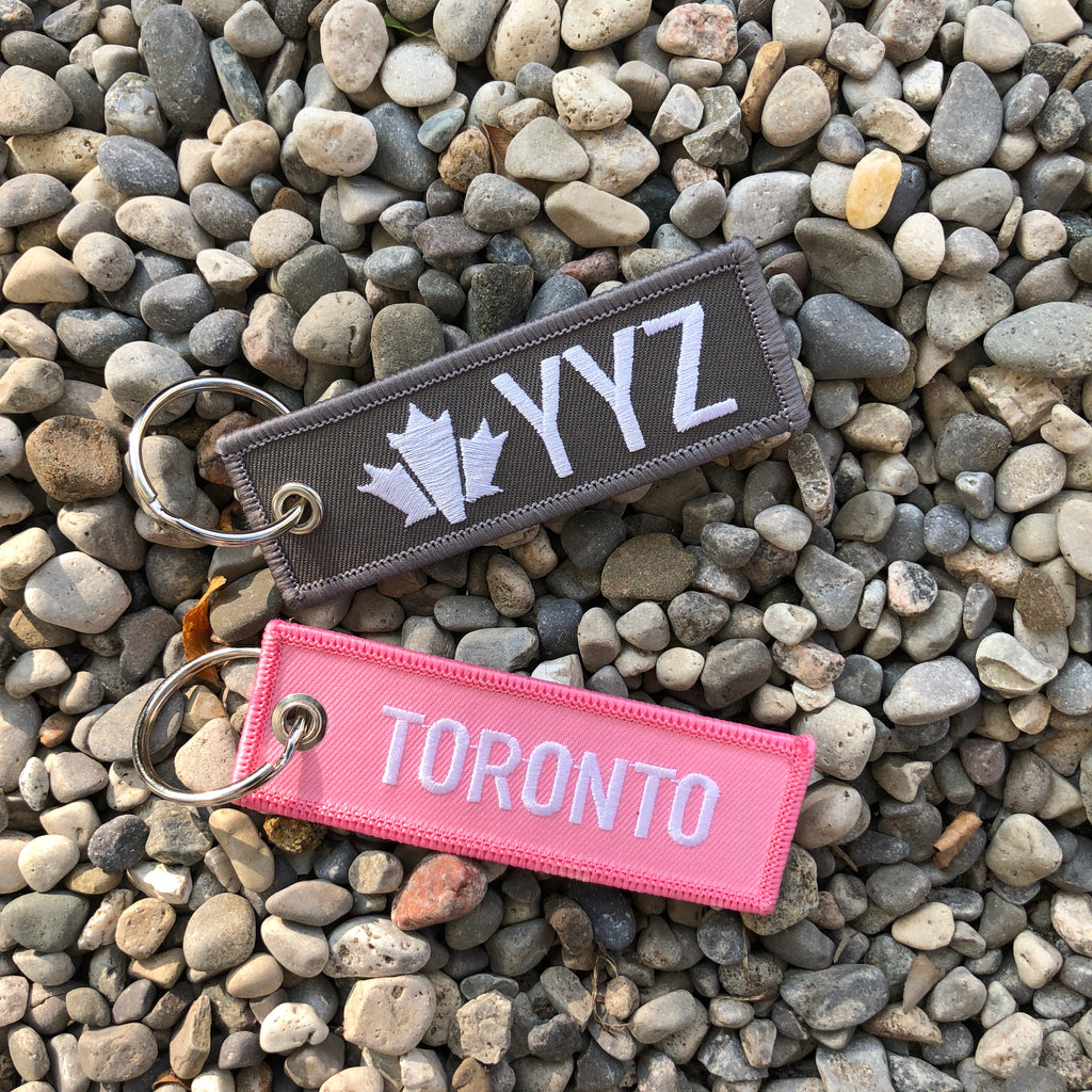 "YYZ ""June Callwood"" Mini Tag"