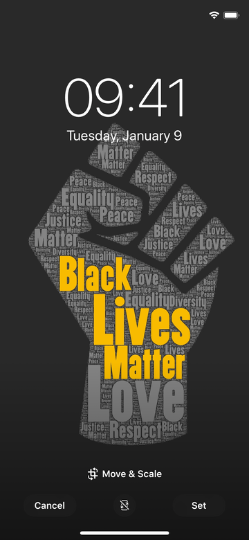 FREE Black Lives Matter Digital Wallpaper