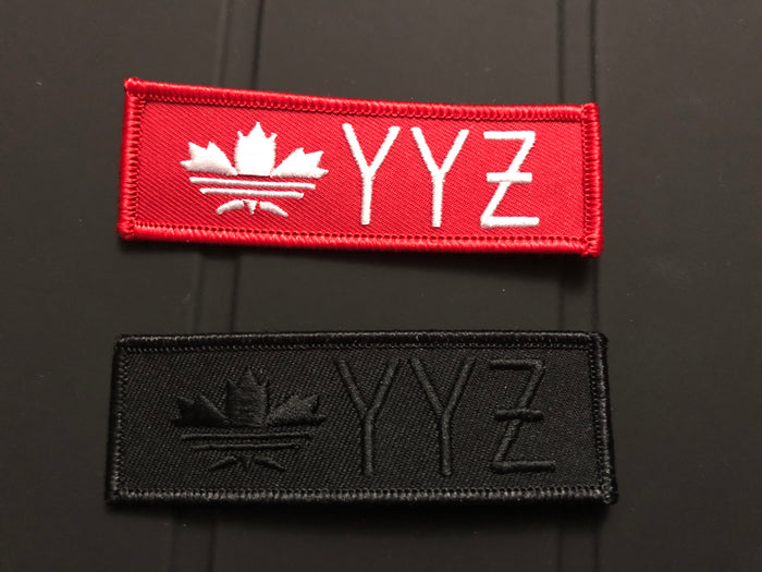 "Toronto ""YYZ"" iron-on Patch"
