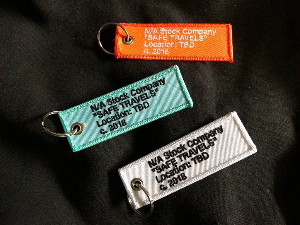 "Safe Travels ""Carry-On"" Breeze Mini Tag"