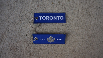 Toronto Mini Travel Tag - Ice cold