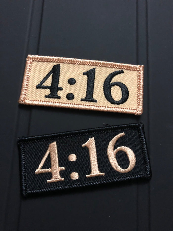 "Toronto ""4:16"" Iron-On Patch"