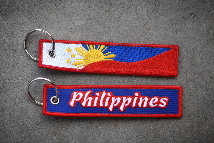 "Philippines Tag ""Blue"""