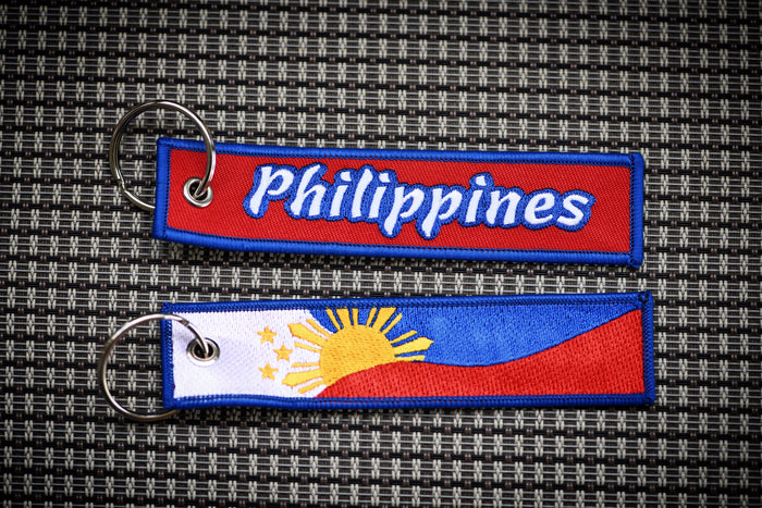 "Philippines Tag ""Red"""