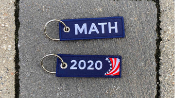 """Math 2020"" Travel Tag"