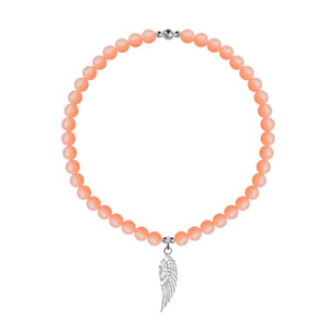 Angel By My Side Stretch Anklet - globalsoul