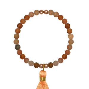 Inner Strength Agate Stretch Bracelet - globalsoul