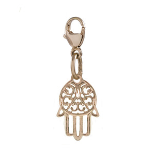 I Am Safe and Lucky Hamsa Charm - globalsoul