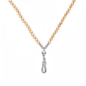 Swarovski Golden Shadow Long Necklace - globalsoul
