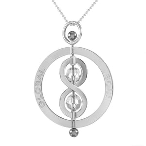 Infinity Spinning Pendant 5cm - globalsoul