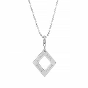 Balance Diamond Necklace - globalsoul