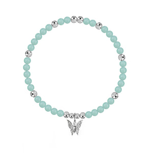 New Beginnings Amazonite Stretch Bracelet - globalsoul