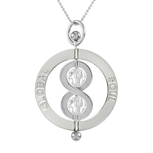 Infinity Spinning Pendant 4cm - globalsoul