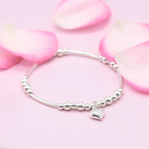 Heart Full of Love Noodle Bracelet - globalsoul