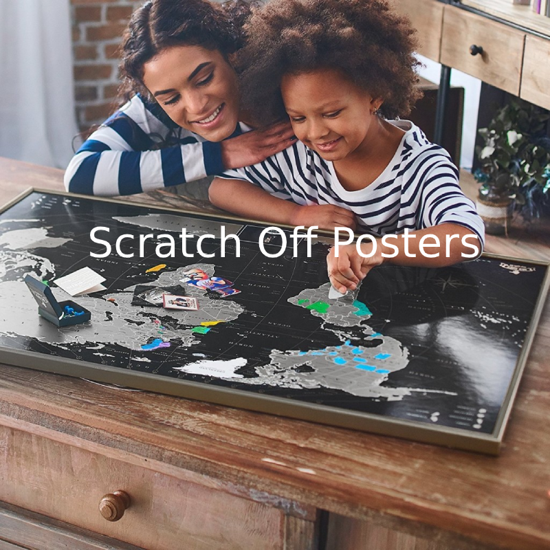 Scratch Off Posters