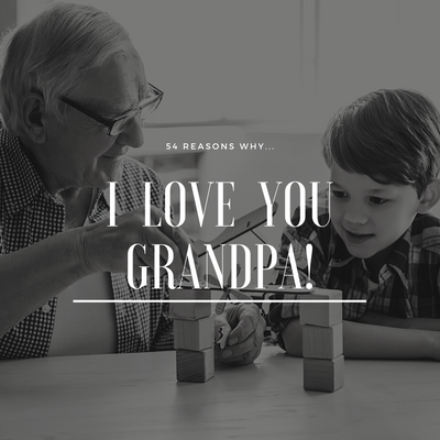 Best Grandpa Appreciation Cards Box Set