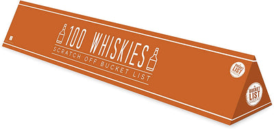 100 Whiskies To Drink Scratch Off Poster