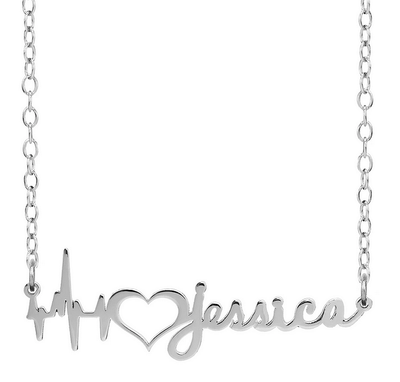 Personalised Heartbeat Necklace