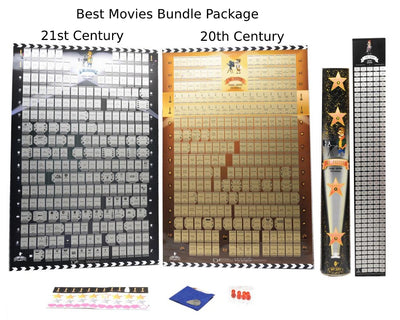 Must See Movie Classics Scratch Off Poster