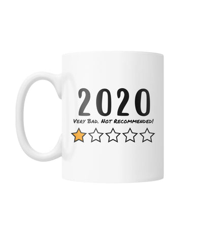 2020 Very Bad. Not Recommended! Mug