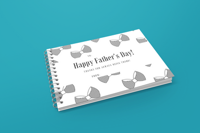 Father's Day Printable Personalised Booklet