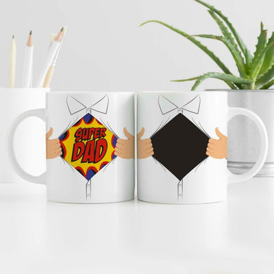 Super Dad Heat Revealing Mug