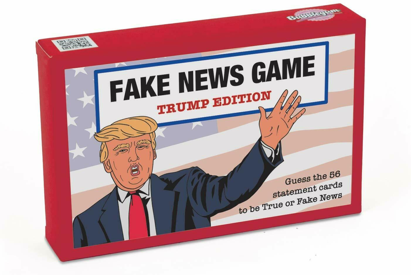Trump Edition Fake News Card Game