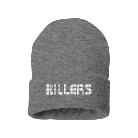 The Killers Logo Beanie (Heather Grey)