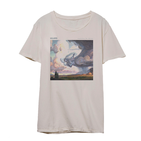 Imploding the Mirage Cover Art T-Shirt (Beige) + Digital Album