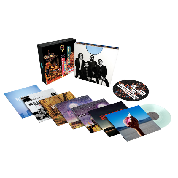 The Killers Lp Box Set Ltd Ed Clear Vinyl Edition The