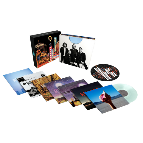 The Killers LP Box Set – Ltd Ed Clear Vinyl Edition