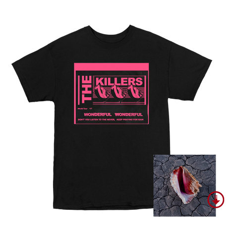 Wonderful Wonderful - Lyric T-Shirt + Deluxe Digital Album