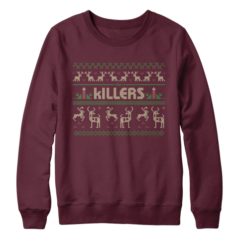 The Killers Men's Holiday Sweater