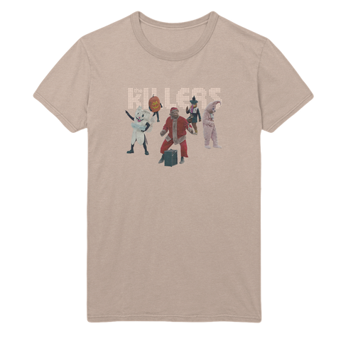 The Killers Unisex Holiday T-shirt