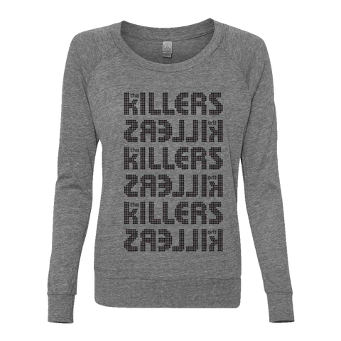 The Killers Logo Official Ladies Pullover Shirt