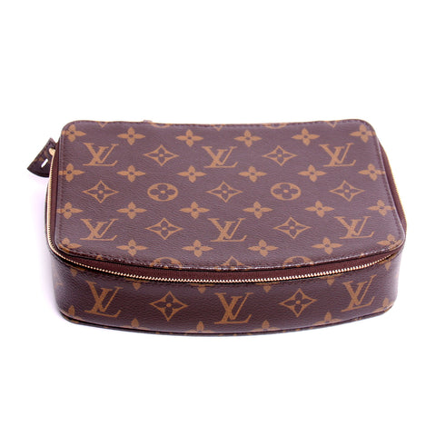 Louis Vuitton Monogram Monte Carlo Jewelry Case Box M47350