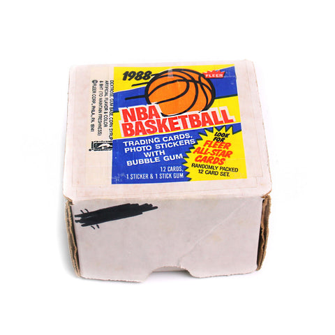 1988- 1989 Fleer Basketball Set + Super Star Sticker Set