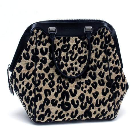 Louis Vuitton Limited Edition Leopard North South Travel Bag