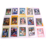 15 Varies NFL and MLB Collector Trading Cards