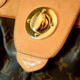 Louis Vuitton Dark Brown Monogram Boetie Handbag Purse