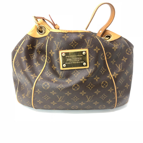 Louis Vuitton Monogram Tote Luxurious Pen Markings Inside