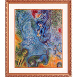 Marc Chagall Magic Flute Framed Lithograph Limited Edition