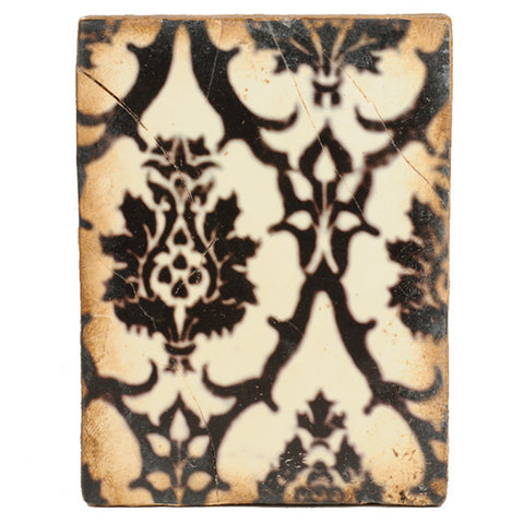 "Sid Dickens ""Black Lace"" Retired Memory Block Tile T-99"