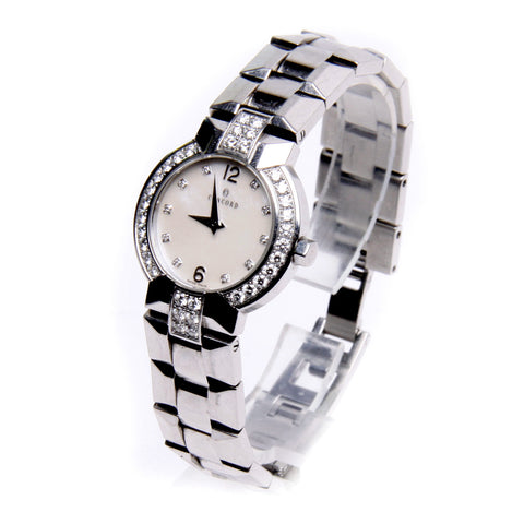 Concord La Scala MOP Diamond Dial & Bezel Ladies Watch