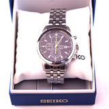 Seiko Analogue Stainless Steel Model 7T92 Chronograph Watch