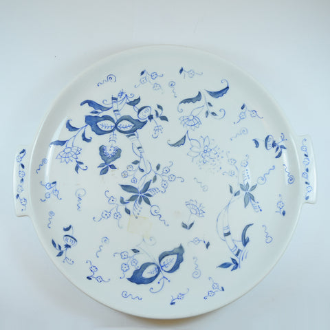 Hand Painted and Signed Helen Bayless Serving Platter/ Plate