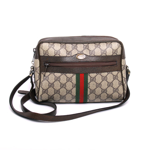 GUCCI Vintage Accessory Collection Monogram Crossbody