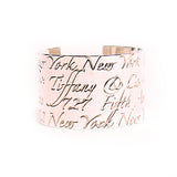 Tiffany & Co. Fifth Avenue Cuff