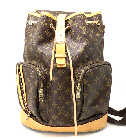 Authentic Louis Vuitton Sac A Dos Bosphore Monogram Backpack