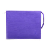 Louis Vuitton Purple EPI Toiletry Pouch 19 Cosmetic Bag